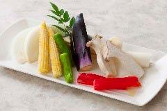 野菜焼き盛り合わせ