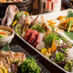 産直素材を使った鮮魚料理が自慢