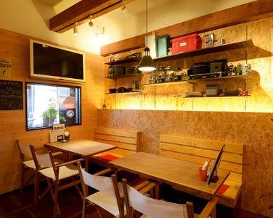 燻製&スペアリブ酒場 BRIO藤が丘店 店内の画像