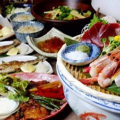 炙炉端 金魚鉢