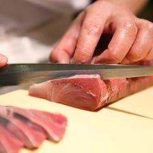 鮮魚をお刺身で堪能!