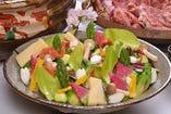 福島牛と山菜の鍋