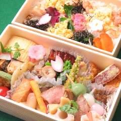 【お品書き】2,700円お弁当 2段折り