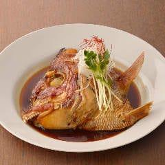 ◆真鯛のかぶと煮付け