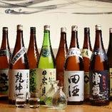 おすすめの日本酒いろいろ取り揃えております