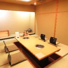 個室宴会場(無煙設備・掘りごたつ)