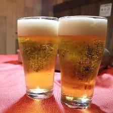 ビール好きの為の飲み放題をご堪能◎
