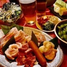 【2時間飲み放題付き】ウルケルビールが楽しめる!全12品「食べ放題プラン」5000円(税込)