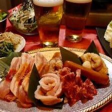 食べ放題コース2時間5000円(税込)