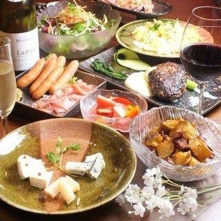 日本酒×肉ダイニング shiosai  コースの画像