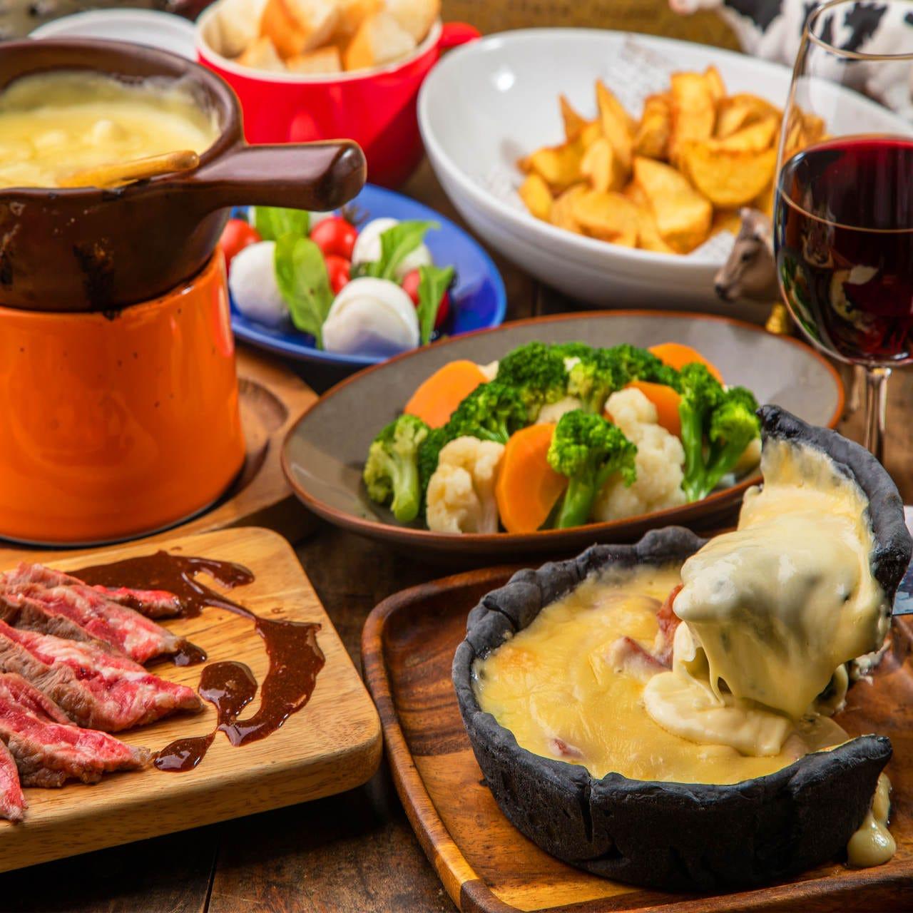 飲み放題付コースは3000円~お料理のみもお選びいただけます。