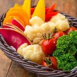 フォンデュお野菜盛り合わせ