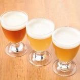 生クラフトビールなど、品数豊富なビールが勢ぞろい♪