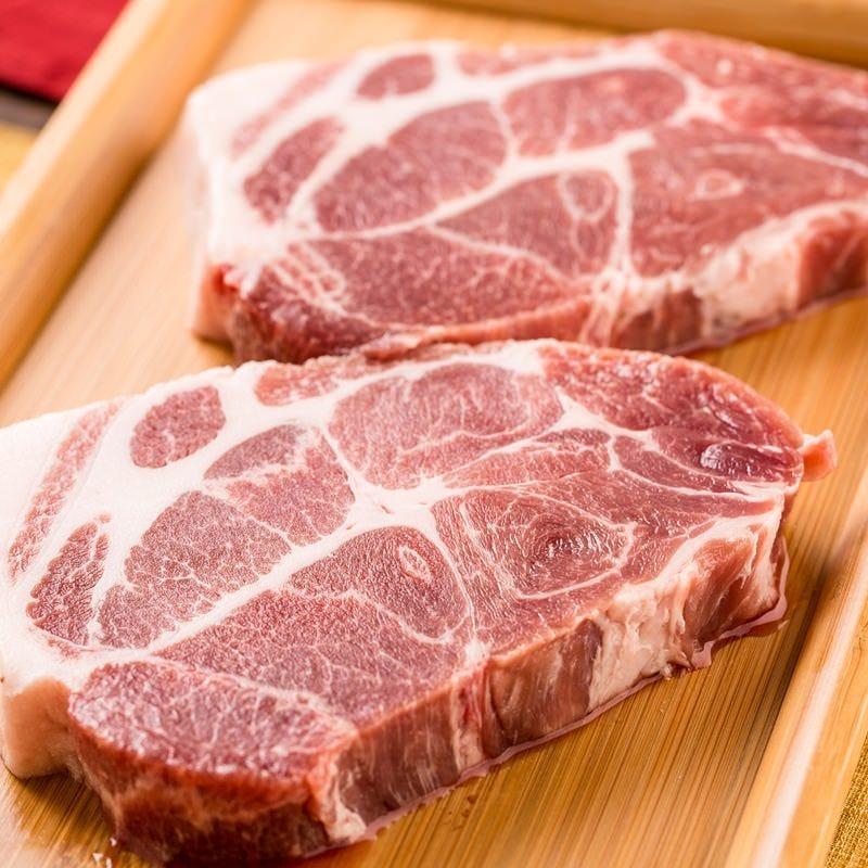 一度も冷凍していない新鮮な国産豚肉