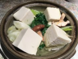 『湯豆腐』は10月〜3月の期間限定商品。食事でも美味しいが飲んだ後半にこの出汁を飲むと体も心も優しい味に包まれます。
