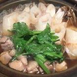 10月〜3月お鍋種類豊富/きりたんぽ鍋/牛もつ鍋/牡蠣キムチ鍋など