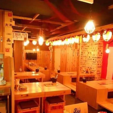 横濱魚萬 JR川崎東口駅前店 店内の画像
