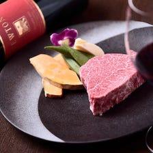 ワインによく合う厳選肉をどうぞ