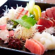 鮮魚のおまかせ盛り