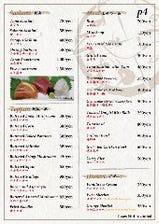 English menu available.有中文菜単