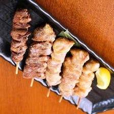 串焼き盛り合わせ(5本)