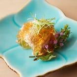 日本の食文化の原点である、旬の食材を旬の季節に食する。