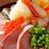 海鮮ちらし丼定食