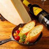 花畑牧場のラクレットチーズを使用♪食材に拘りありのチーズ料理