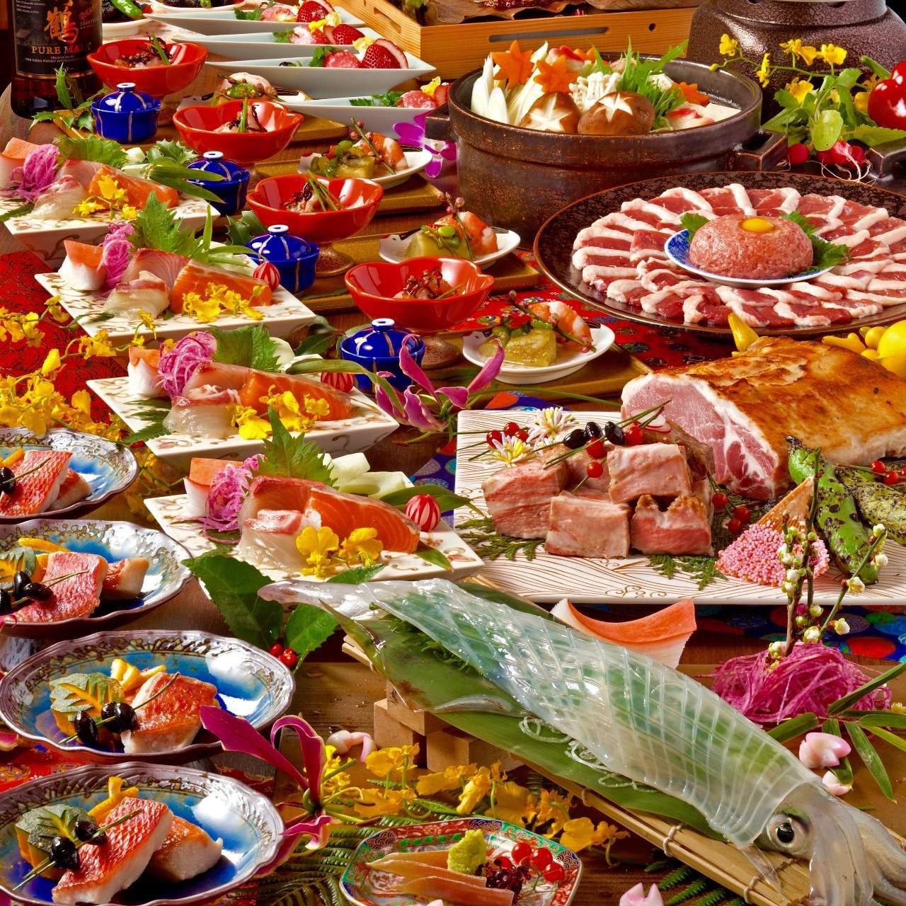 魚・肉・野菜の全てが鮮度と質にこだわっております。