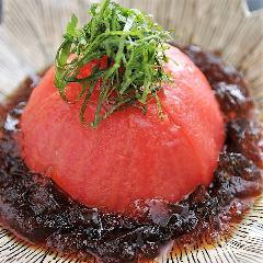 完熟トマトの ポン酢ジュレサラダ
