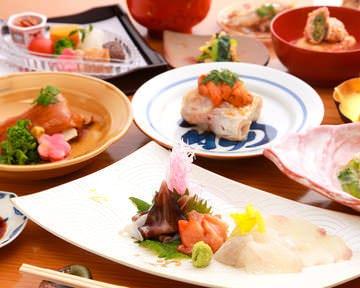 旬の食材を使用した逸品を リーズナブルにお楽しみ頂けます。