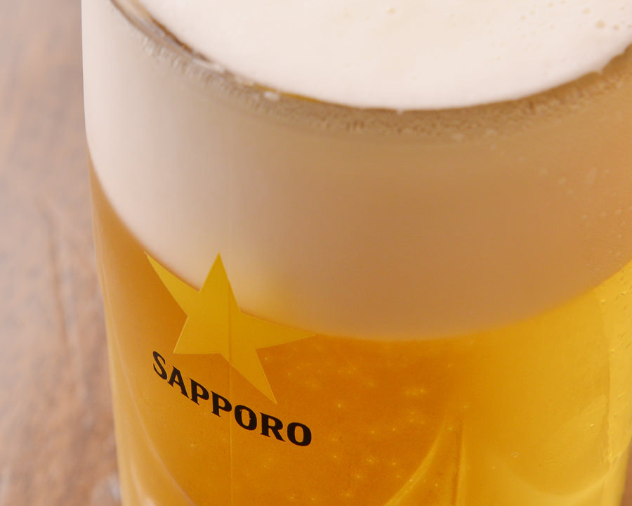 ビールはクーポンで何杯でも割引で☆
