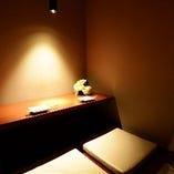 デートに最適!カップルシート個室。ほりごたつでのんびり過ごせます☆