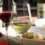 イタリアのワインに合うお料理多数ご用意!