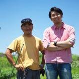 契約農家は10軒以上!新鮮野菜をたっぷり使ったメニュー