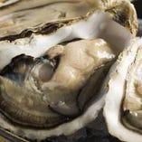 北海道産、生牡蠣・焼き牡蠣