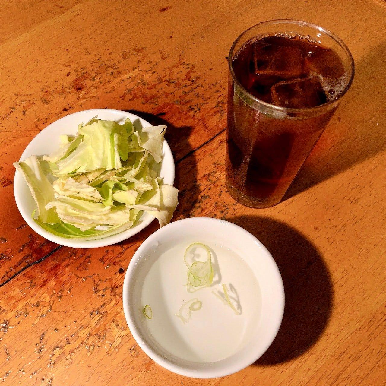 【毎日お得!】烏龍茶飲み放題・鶏スープ&ウーロン茶飲み放題!