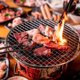お肉の味付けは、みそダレ・しょうゆダレ・塩ダレをご用意!