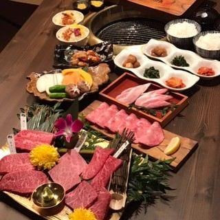 飛騨牛・黒豚宴 黒家 上野町店 コースの画像