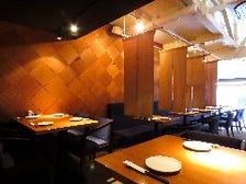 食事と会話を楽しむ空間