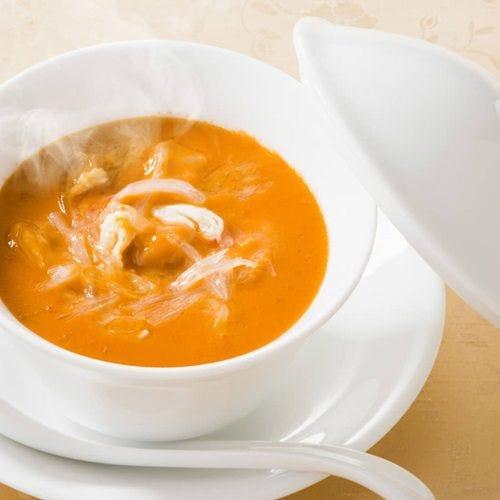 【1番人気】うにとフカヒレのスープ