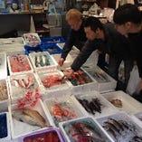 [築地直送鮮魚] 熟練の目利きで選ばれた魚をお手頃価格でご提供