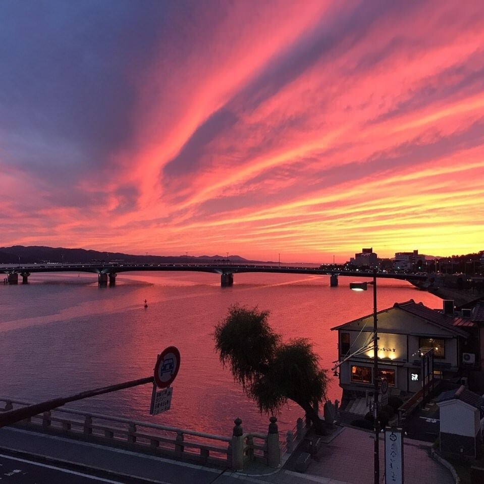 水の都松江の美しい景色が見渡せる!
