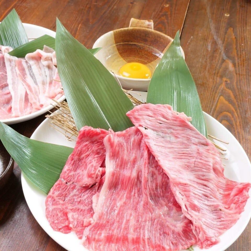 山陰の高品質な肉の絶品しゃぶしゃぶ