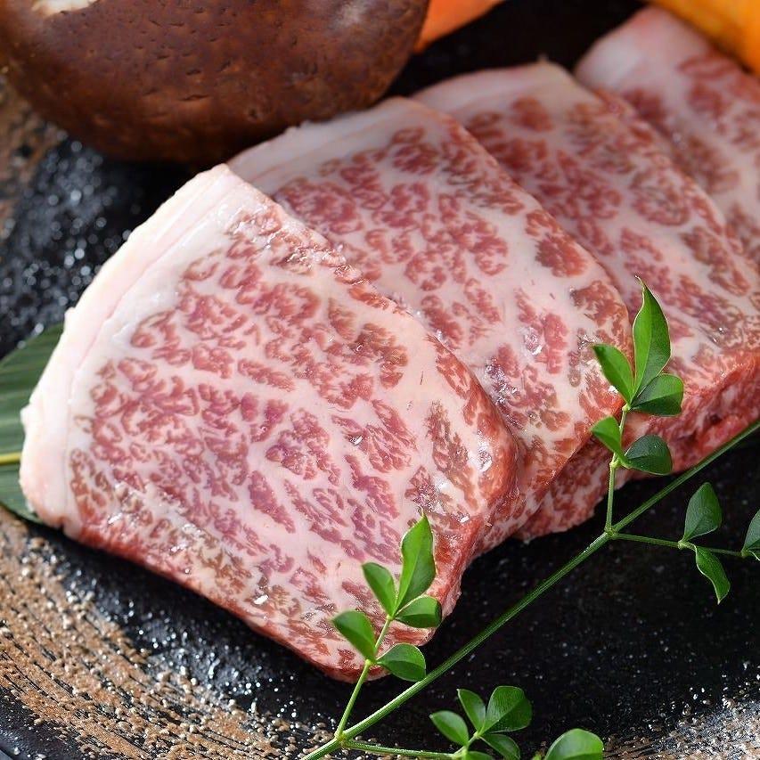 一括で仕入れ自社セントラルキッチンで徹底管理されたお肉です。