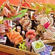 新鮮で旨い魚介!産地直送鮮魚の数々