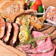 圧倒的、肉料理!!!