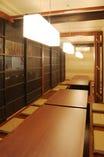 半個室のお座敷はお部屋を繋げてご案内出来ます(2~18名様まで)