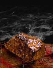 塊肉500g 炭火焼ROBAMEATS