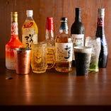 マッコリやウイスキー・ワインなど多彩なドリンク